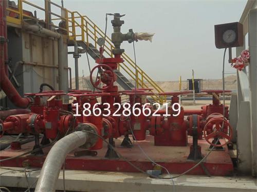 柔性节流压井管线科威特使用现场