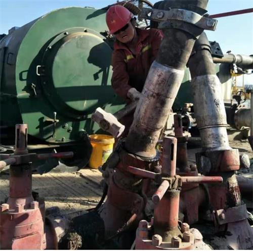 钻探胶管(水龙带)长庆油田使用现场