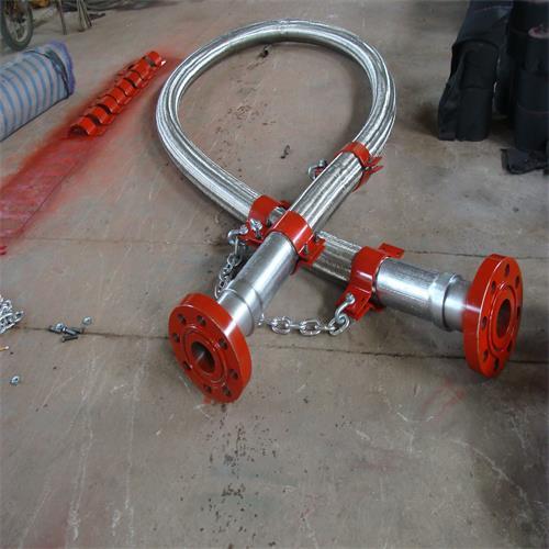 高压耐火防喷管线