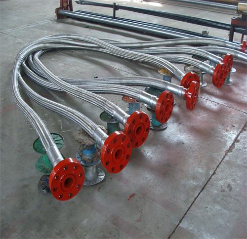 法兰连接式柔性节流压井管线(汇)